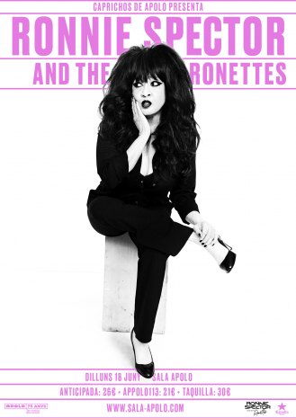Caprichos de Apolo presents: Ronnie Spector