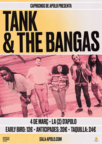 Caprichos de Apolo presents Tank and The Bangas