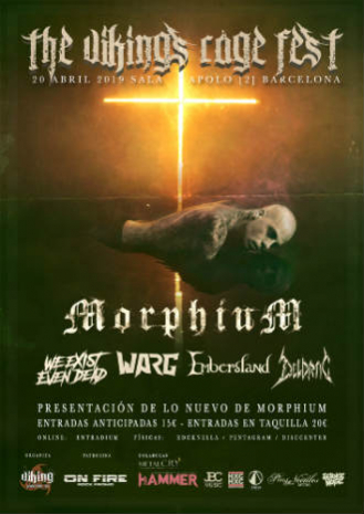The Viking's Rage Fest: Moprhium + Deldrac + Warg + Pycaya + We Existe Even Dead