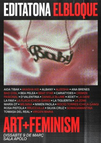 Editatona Art+Feminisme BCN 2019: El Bloque TV