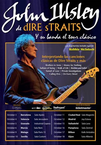 John Illsley of Dire Straits (CANCELLED)