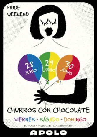 Churros con Chocolate | Pride Weekend and Season Closing