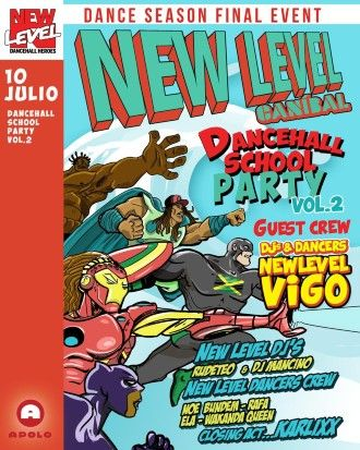 Canibal Soundsystem: New Level - Dancehall School Party Part 2