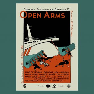 Charity concert for Open Arms with Love of Lesbian + Mishima + Bad Gyal (dj set) + Maria Arnal i Marcel Bagés + Cala Vento + Maria José Llergo and more