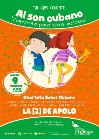The Kids Concert: Cuarteto Sabor Cubano