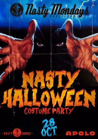 Nasty Mondays: Halloween | Soren & Mad Max + Visuales by Rico