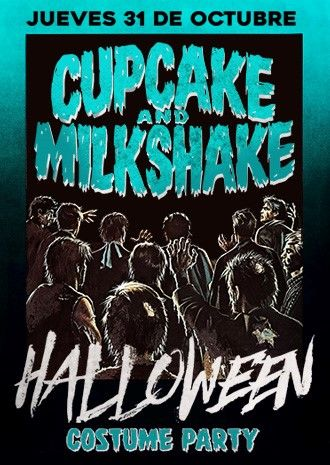 Cupcake: Halloween | Bulma & Mr. Majestyk + Visuales by Fedex