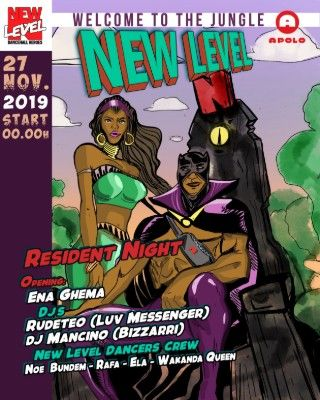 Canibal Soundsystem: New Level | RudeTeo + Dj Mancino