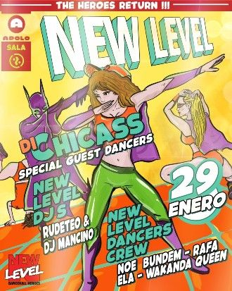 Canibal Soundsystem: New Level | Di Chicass + RudeTeo + Dj Mancino