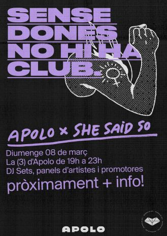 Apolo x She Said So: Every day is Women's Day