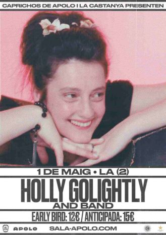 La Castanya & Caprichos de Apolo presenta Holly Golightly and Band
